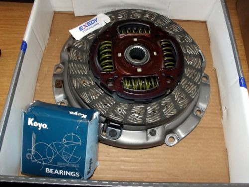 Clutch kit, 3-piece, Mazda MX-5 mk3 NC 2.0 6-speed models